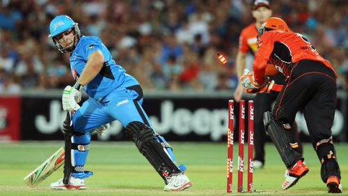 Perth Scorchers down Adelaide Strikers in Big Bash League