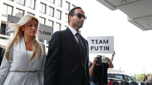 "Papadopoulos, the first campaign aide sentenced in special counsel Robert Mueller's ongoing investigation, said he was ""deeply embarrassed and ashamed""."
