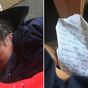 'I had him in the bathroom': Newborn abandoned with heartbreaking note