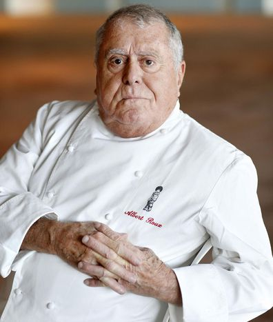 Albert Roux, seen here in the Aviva Stadium on November 14, 2013, was the founder of Britain's first Michelin-starred restaurant, Le Gavroche