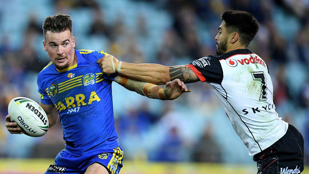 Gutherson's versatility a big help to injury-riddled Parramatta Eels