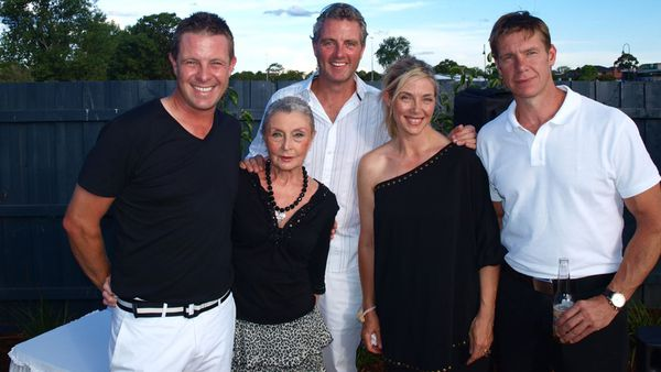 Kellie and her late mum Pamela plus brothers Robert, Stephen and Michael.
