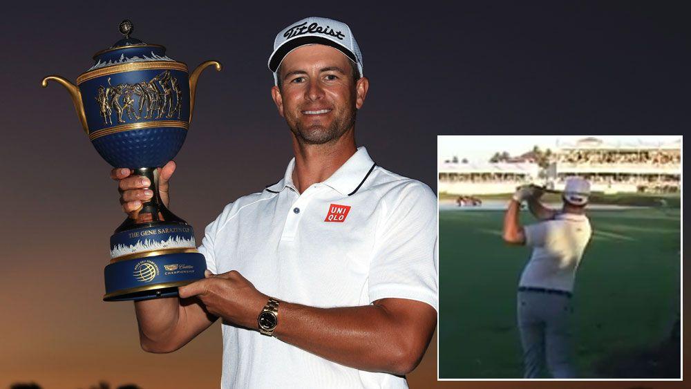 Adam Scott wins WGC golf in Miami