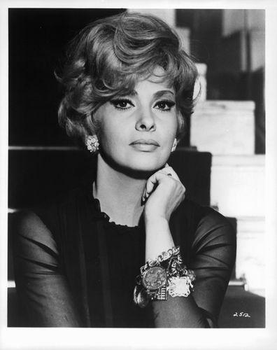Arlene Golonka sitting in staircase in a scene from the film 'Harvey Middleman, Fireman', 1965.