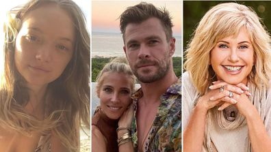 Celebrities, Byron Bay, homes, Gemma Ward, Chris Hemsworth, Elsa Pataky, Olivia Newton-John