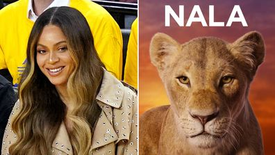 Beyoncé in The Lion King