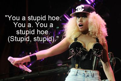 Tell us what you really think, Nicki.
