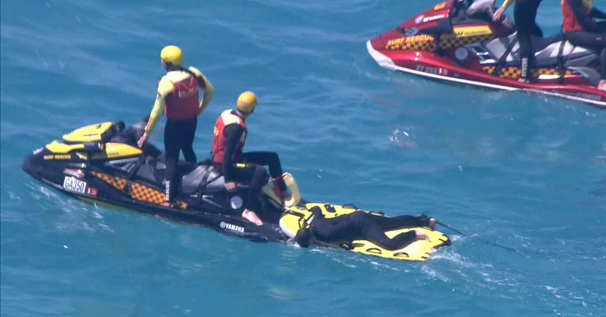 Pieces of wetsuit found in search for WA surfer attacked by shark – 9News