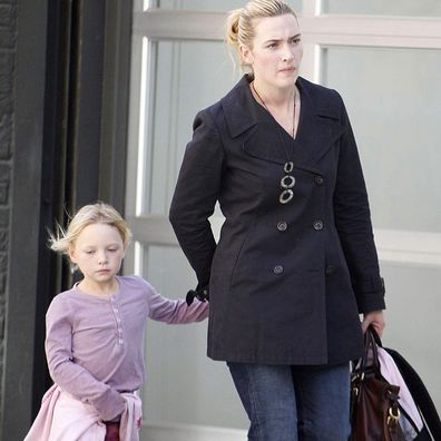 Kate Winslet and Mia Honey Threapleton in 2006.