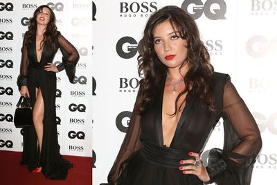 Daisy Lowe and her awkward knickers flash!