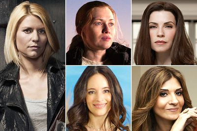 Claire Danes &mdash; <i>Homeland</i><br/>Mireille Enos &mdash; <i>The Killing</i><br/>Julianna Margulies &mdash; <i>The Good Wife</i><br/>Madeleine Stowe &mdash; <i>Revenge</i><br/>Callie Thorne &mdash; <i>Necessary Roughness</i>