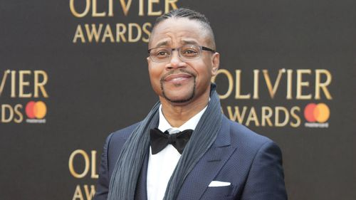 Cuba Gooding Jr at the Olivier Awards in London. (AAP)