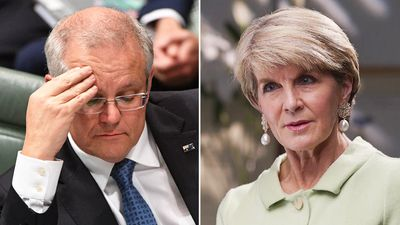 Australian politics 'the laughing stock of the world', says Julie Bishop