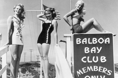 <strong>Balboa Bay Club in Newport Beach, California in the 1950s</strong>