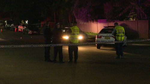A three-year-old boy is in a critical condition after he was hit by a car.