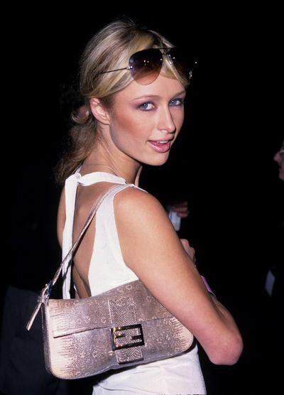 Paris Hilton with her Fendi 'Baguette'