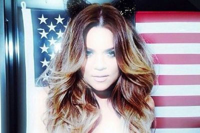 @khloekardashian: Happy 4th of July to my dolls! Be safe!!!!
