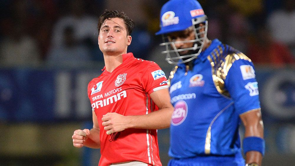 Marcus Stoinis was man-of-the-match for the Punjab Kings XI. (AFP)