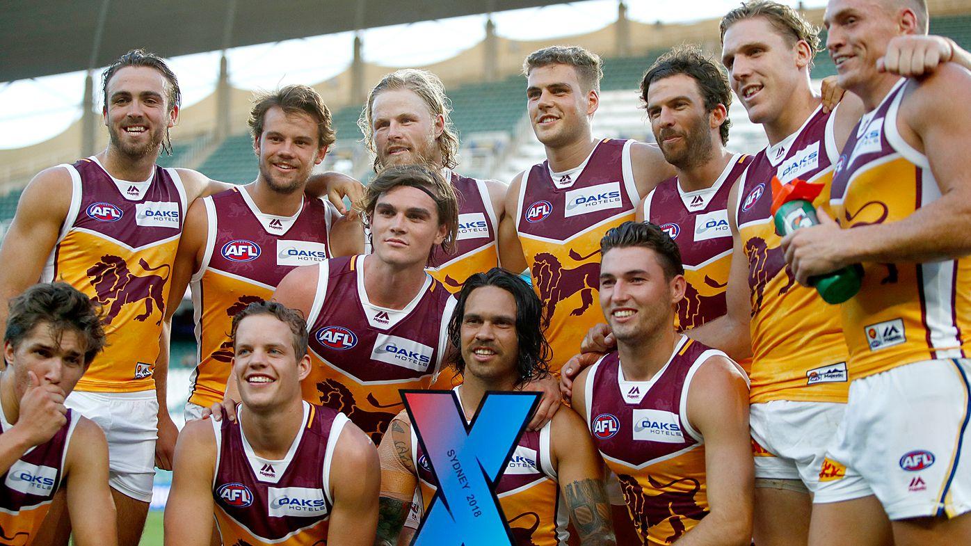 Brisbane Lions beat Sydney Swans in AFLX grand final