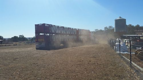 Glenn Walker said hes seen nothing like the current drought in years of farming.