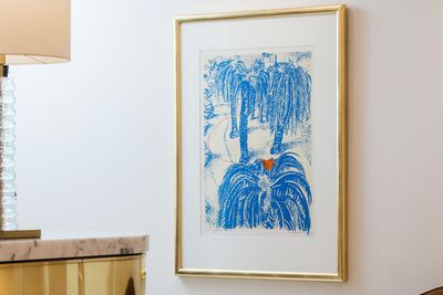 <strong><em>(The Orange) Fruit Dove in Clark Park,</em> Brett Whiteley</strong>