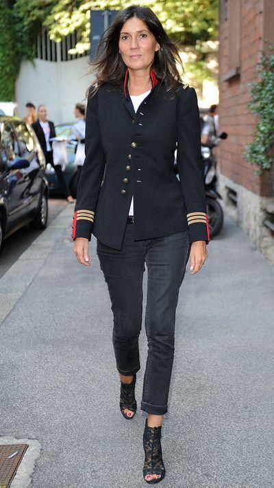 The navy blazer