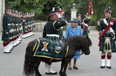 The Queen is welcomed to Balmoral Castle, August 2018