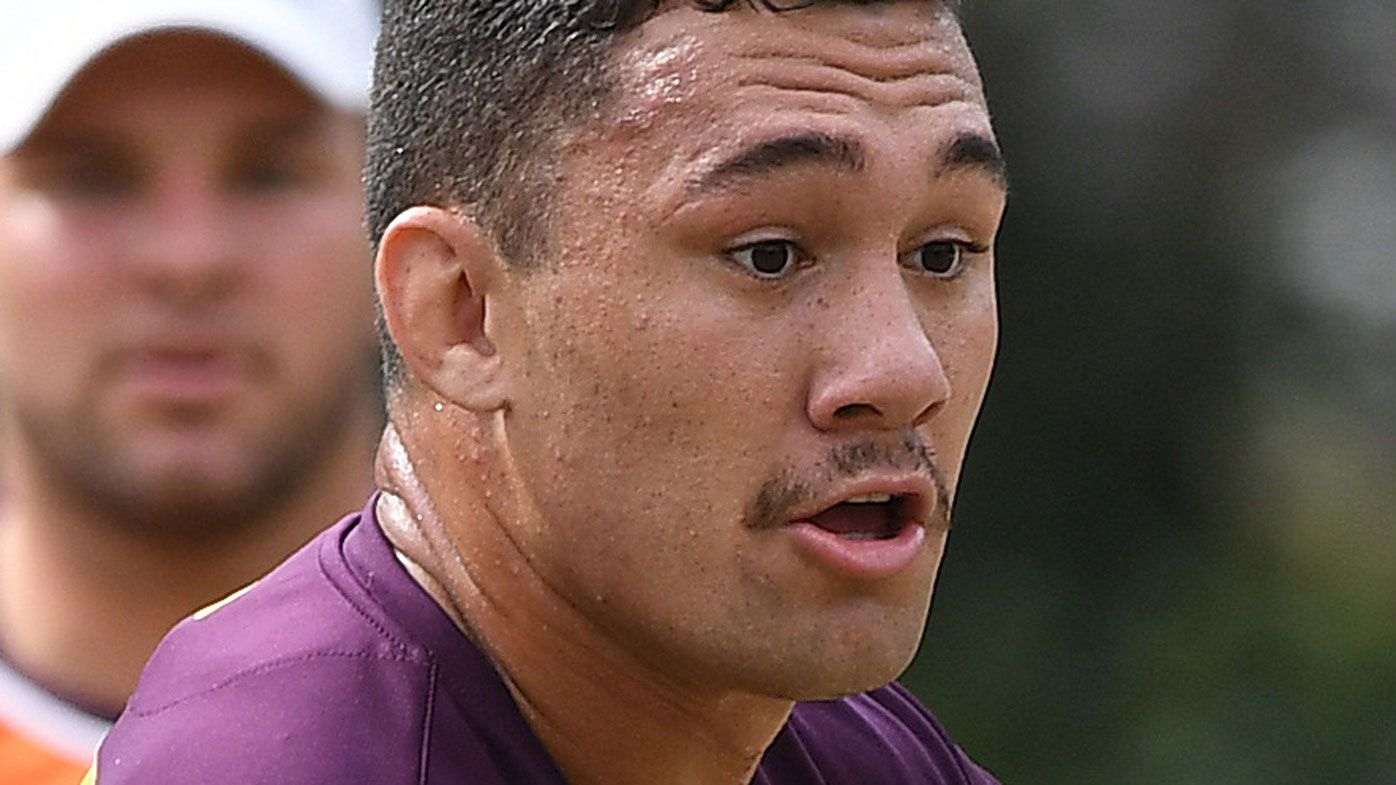 NRL news: Brisbane Broncos forward Jaydn Su'a hit with shoulder charge