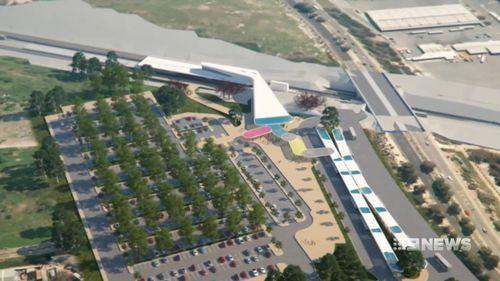 Construction is due to start next year. Picture: 9NEWS
