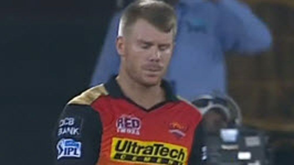 Warner blames sloppy fielding in IPL loss