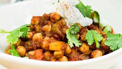 Kate Gibbs' Spiced Moroccan chickpeas