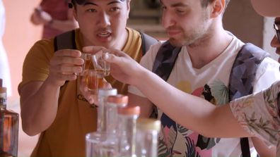 The Travel Guides whip up some exciting cocktails