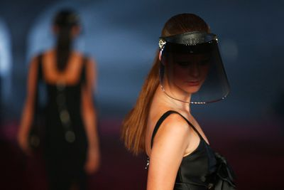 Futuristic accessories look to the new season. Myer Autumn/Winter 2017.