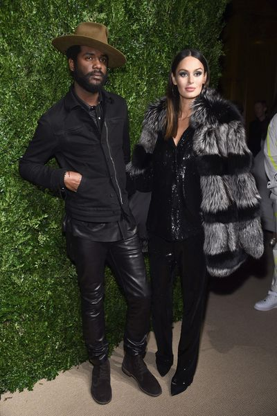 Nicole Trunfio and husband Gary Clark Jr.