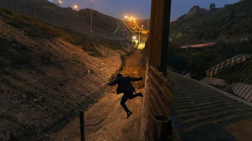 Tijuana is one of the most common border crossing points for drug-smugglers and migrants into the US.