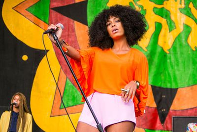 Beyonce's baby sis Solange, 27, has a history with drugs. In 2008, she wrote a song about marijuana called 'Champagne Chronic Nightcap'.<br/><br/>In 2009, she tweeted about having a Nyquil overdose before asking Twitter followers where she can find weed in New York. In 2013, she cancelled the rest of her European tour to take care of her 'mental and physical health' and 'provide stability for my family'. More on that next...<br/><br/>Image: Getty