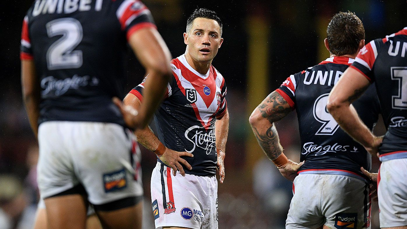 Trent Robinson left disappointed in Sydney Roosters' defence after Rabbitohs loss
