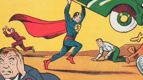 Superman comic sells for more than $1m