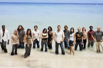 <B>The beach:</B> Who knows?<br/><br/><br><br> <I>Lost</I> takes place on an unknown tropical island somewhere in the South Pacific after a passenger plane crashes on it in 2004. The survivors explore the island in hopes of escape, learning more about its mysterious secrets in the process. Filmed on location at Oahu, Hawaii, the actual location of the island on the show was never quite revealed... mostly because the island could move around when required.