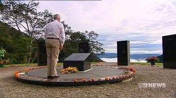 Malcolm Turnbull marks 75 years since Kokoda