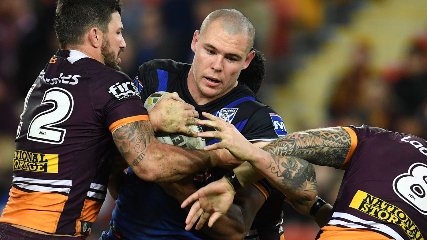 Klemmer plays his 100th NRL game against the Broncos.