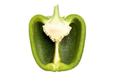 Green capsicum: 74.4mg vitamin C per 100g