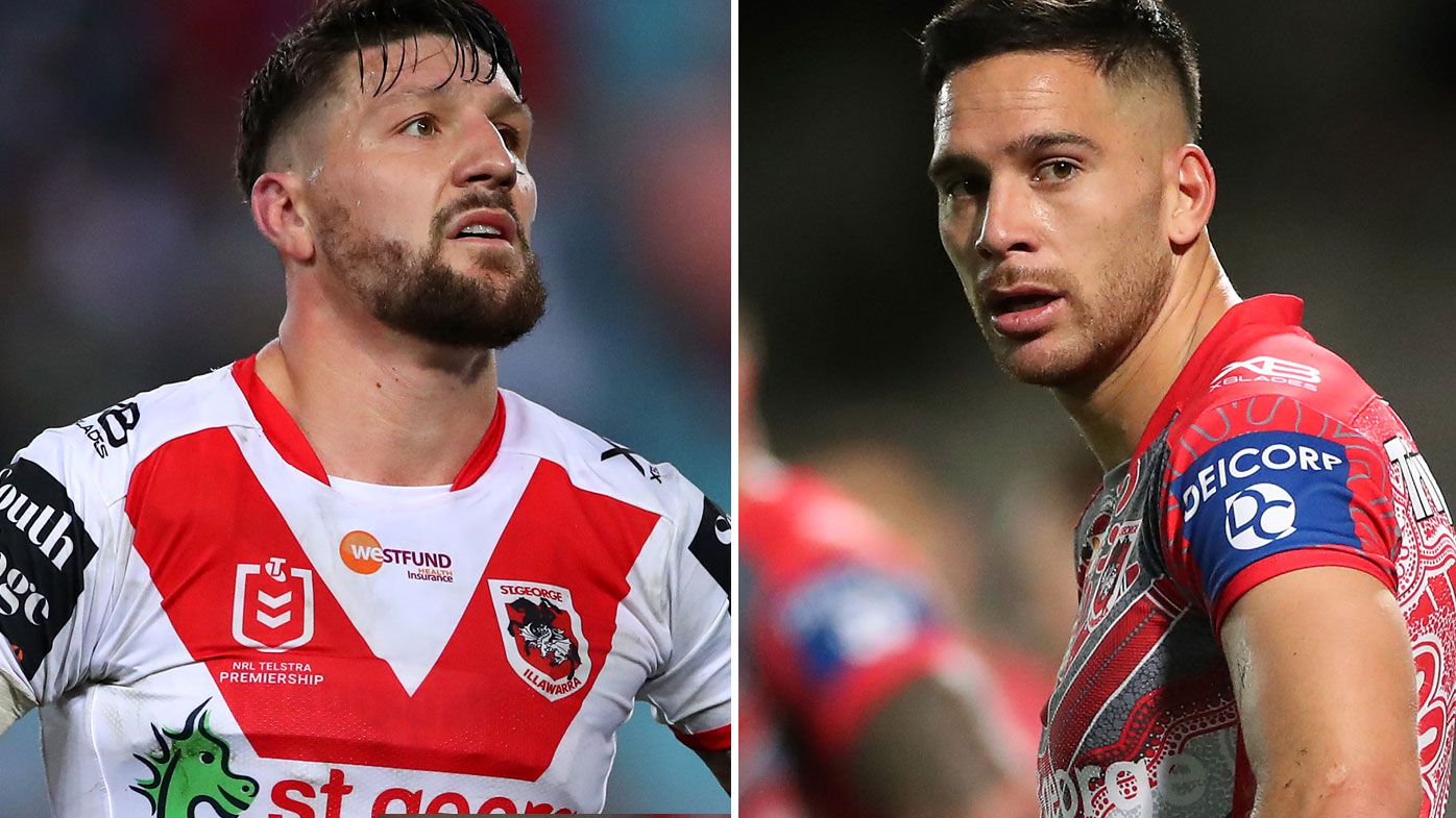 Paul Gallen backs Super League swap as Dragons look to bring back Gareth Widdop for 'inconsistent' Corey Norman