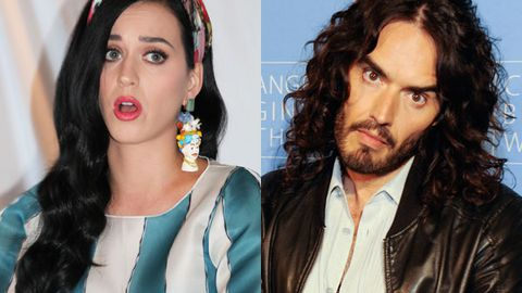 'Russell Brand divorced me by text': Katy Perry's shock revelation as Russ socks it to TV hosts
