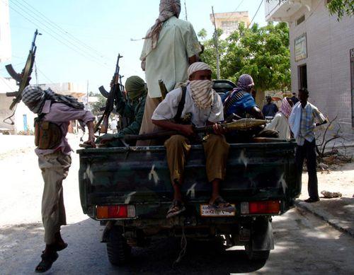Al-Shabaab fighters in Somalia. (Photo: AP).