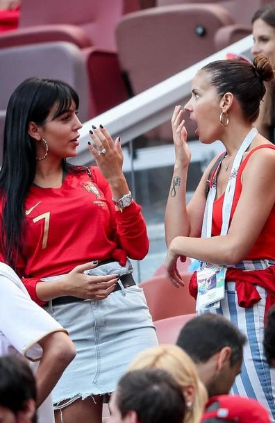 Cristiano Ronaldo S Girlfriend Georgina Rodriguez Spotted With Giant Cartier Engagement Ring 9celebrity
