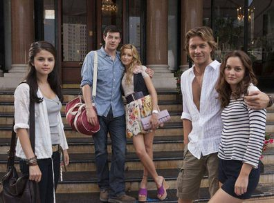 Luke Bracey starred alongside Selena Gomez, the late Cory Monteith, Katie Cassidy and Leighton Meester in the 2011 teen movie Monte Carlo.
