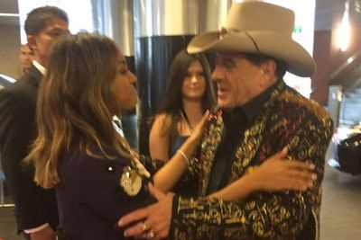 @sonymusicaustralia: Two of Australia's greatest come together @jessicamauboy1 @mollymeldrum #ARIAs #CanIGetAMoment