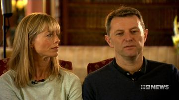 Parents of Madeleine McCann say they won't give up hope of finding her