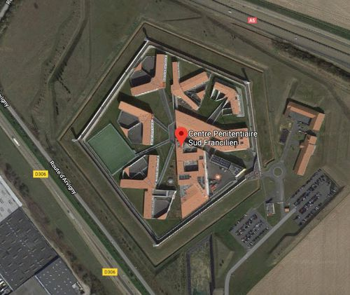 This is the prison that Redoine Faid escaped from, located south of Paris. (Google images)